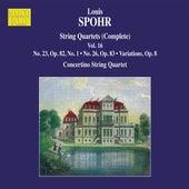 Spohr: Complete String Quartets, Vol. 16 by Moscow Philharmonic Concertino String Quartet