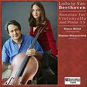 Beethoven Sonatas for Violoncello and Piano 1-5 von Simone Dinnerstein