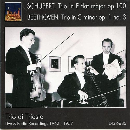 Schubert: Piano Trio No. 2 - Beethoven: Piano Trio No. 3 by Trio Di Trieste