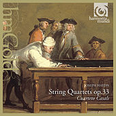 Haydn: String Quartets, Op. 33 by Cuarteto Casals