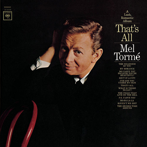 That's All by Mel Tormè
