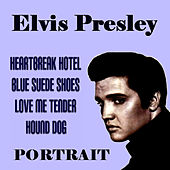 Elvis Presley  Portrait by Elvis Presley