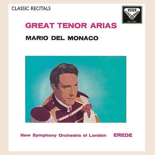 Mario del Monaco: Great Tenor Arias by Mario del Monaco
