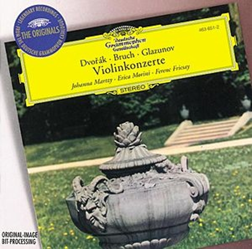 Dvorák / Bruch / Glazunov: Violin Concertos by Various Artists