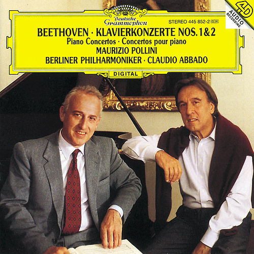 Play & Download Beethoven: Piano Concertos Nos.1 & 2 by Maurizio Pollini | Napster