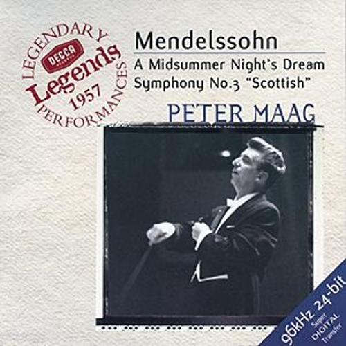 Play & Download Mendelssohn: Symphony No.3; A Midsummer Night's Dream by Various Artists | Napster