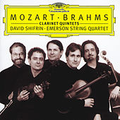 Play & Download Mozart / Brahms: Clarinet Quintets by Emerson String Quartet | Napster