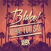 What You Say by Blake