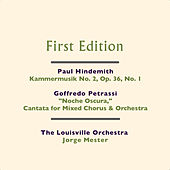 Play & Download Paul Hindemith: Kammermusik No. 2, Op. 36, No. 1 - Goffredo Petrassi: