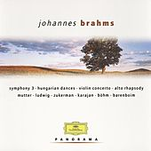Brahms: Symphony No.3; Hungarian Dances; Violin Concerto; Alto Rhapsody by Various Artists