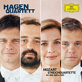 Mozart: String Quartets K. 489, 499 & 590 by Hagen Quartett