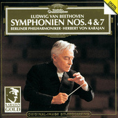 Play & Download Beethoven: Symphonies Nos.4 & 7 by Berliner Philharmoniker | Napster