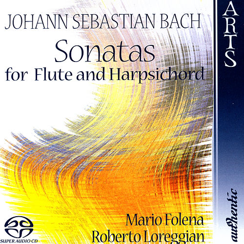 Sonatas For Flute & Harpsichord by Mario Folena