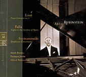 Liszt, Szymanowski, Falla by Arthur Rubinstein