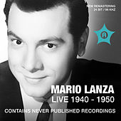 Play & Download Mario Lanza Live (Recorded 1940 - 1950) by Mario Lanza | Napster