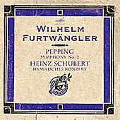 Play & Download Pepping: Symphony No. 2 - Schubert: Hymnisches Konzert (Live) by Berlin Philharmonic Orchestra | Napster