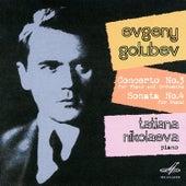 Golubev: Concerto No. 3 & Sonata No. 4 by Tatiana Nikolayeva