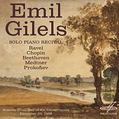 Play & Download Emil Gilels: Solo Piano Recital. December 23, 1968 by Emil Gilels | Napster
