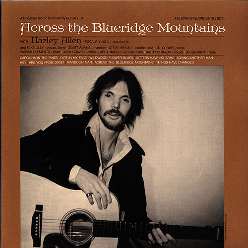 Play & Download Across the Blueridge Mountains by Harley 'Red' Allen | Napster
