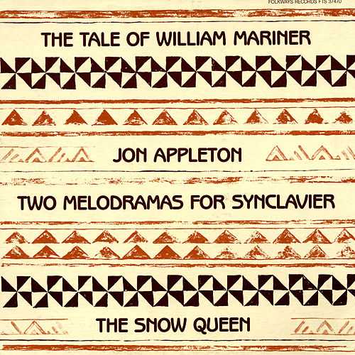Play & Download Two Melodramas for Synclavier by Jon Appleton | Napster