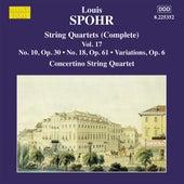 Spohr: String Quartets, Vol. 17 by Moscow Philharmonic Concertino String Quartet