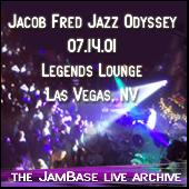 Play & Download 07-14-01 - Legends Lounge - Las Vegas, NV by Jacob Fred Jazz Odyssey | Napster
