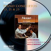 Play & Download Mozart: Piano Concertos Nos.15, 21 & 23 by Alfred Brendel | Napster