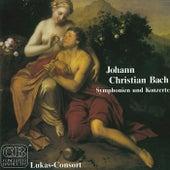 Play & Download Johann Christian Bach: Symphonien und Konzerte by Lukas Consort (1) | Napster