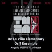 Play & Download 2014 Texas Music Educators Association (TMEA): De La Viña Elementary Orff Ensemble [Live] by De La Vina Elementary Orff Ensemble | Napster