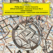 Play & Download Glass: Violin Concerto / Schnittke: Concerto Grosso by Gidon Kremer | Napster