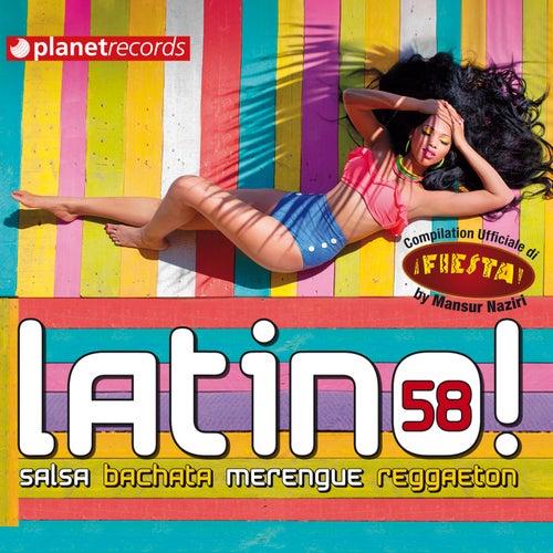 Latino 58 - Salsa Bachata Merengue Reggaeton (Compilation Ufficiale Fiesta Festival Roma) by Various Artists