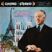 Franck: Symphonic Variations; Liszt: Piano Concerto No. 1; Saint-Saens: Piano Concerto No. 2 by Alfred Wallenstein; Arthur Rubinstein