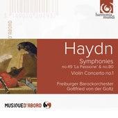 Play & Download Haydn: Symphonies No. 49 & No. 80, Violin Concerto No. 1 by Gottfried von der Goltz and Freiburger Barockorchester | Napster