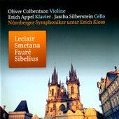 Leclair: Sonate für Violine und Klavier in A Major - Smetana: Klaviertrio in G Minor, Op. 15 - Fauré: Berceuse, Op. 16 in D Major - Sibelius: Serenata für Violine und Orchester in D Major, Op. 69a by Various Artists
