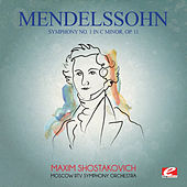 Play & Download Mendelssohn: Symphony No. 1 in C Minor, Op. 11 (Digitally Remastered) by Moscow RTV Symphony Orchestra | Napster