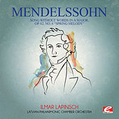 Mendelssohn: Song Without Words in a Major, Op. 62, No. 6