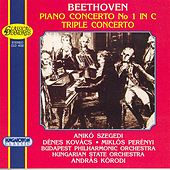 Play & Download Beethoven: Piano Concerto No. 1 / Triple Concerto for Violin, Cello and Piano, Op. 56 by Aniko Szegedi | Napster