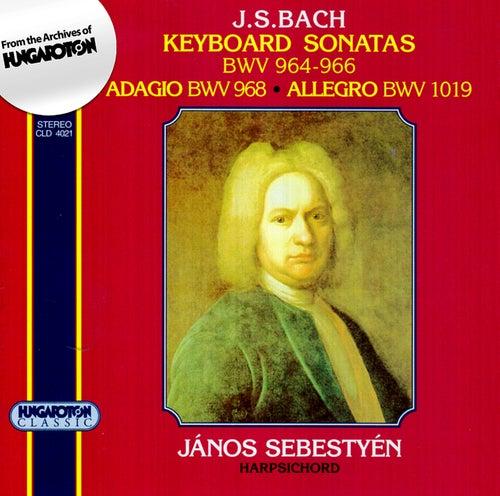 Bach: Keyboard Sonatas by Janos Sebestyen