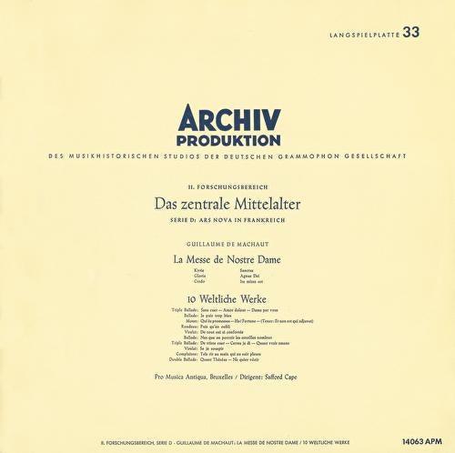 Play & Download Leonin:Organum Duplum / Perotin: Organum Quadruplum / Machaut: Messe de Nostre Dame / Dufay: 5 Sacred Songs by Various Artists | Napster