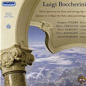 Play & Download Boccherini: 3 Quartets for flute and strings, Op. 5 - Quintet in C major for flute, oboe and strings by Gergely Ittzes   Napster