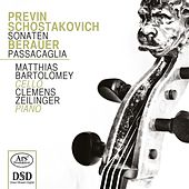 Play & Download Previn, Shostakovich & Berauer: Works for Cello & Piano by Matthias Bartolomey | Napster