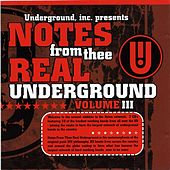 Notes From Thee Real Underground #3 Vol. 1 by Various Artists