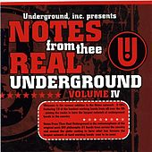 Notes From Thee Real Underground #4 Vol. 1 by Various Artists