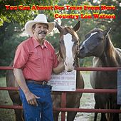 I Can Almost See Texas from Here by Country Lou Watson