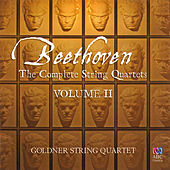 Beethoven: The Complete String Quartets, Vol. 2 by Goldner String Quartet