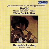 Play & Download Bach, J.S. / Bach, C.P.E. / Quantz / Telemann / Fischer: Solo Flute Works by Benedek Csalog | Napster