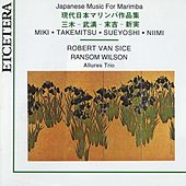 Miki, Takemitsu, Sueyoshi, Niimi, Japanese music for marimba by Robert van Sice