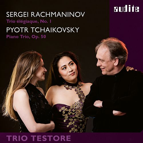 Play & Download Rachmaninoff & Tchaikovsky: Piano Trios by Trio Testore | Napster