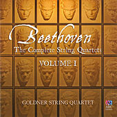 Beethoven: The Complete String Quartets, Vol. 1 by Goldner String Quartet