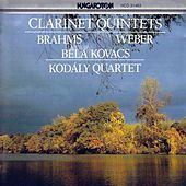 Play & Download Brahms: Clarinet Quintet / Weber, C.M.: Clarinet Quintet by Bela Kovacs | Napster